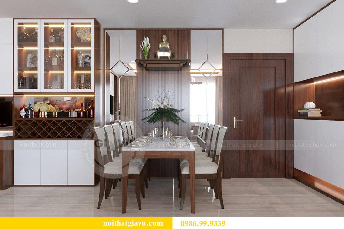 Thiết kế nội thất chung cư Dcapitale tòa C3 căn 10 - chị Hằng 4