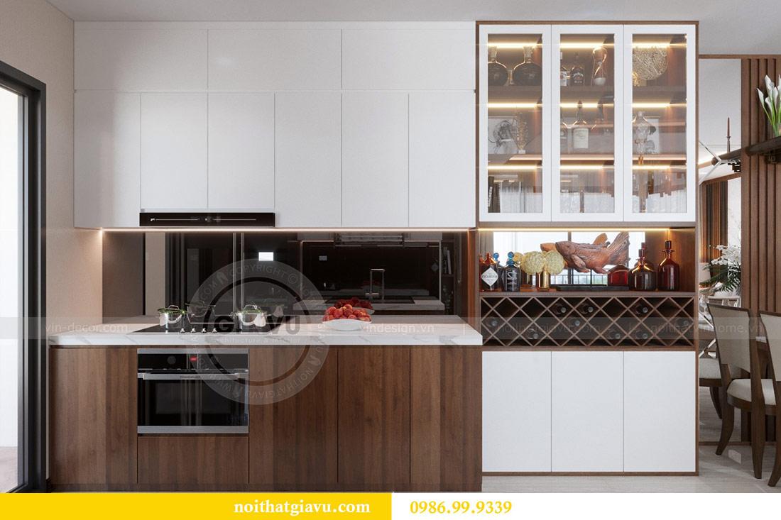Thiết kế nội thất chung cư Dcapitale tòa C3 căn 10 - chị Hằng 5