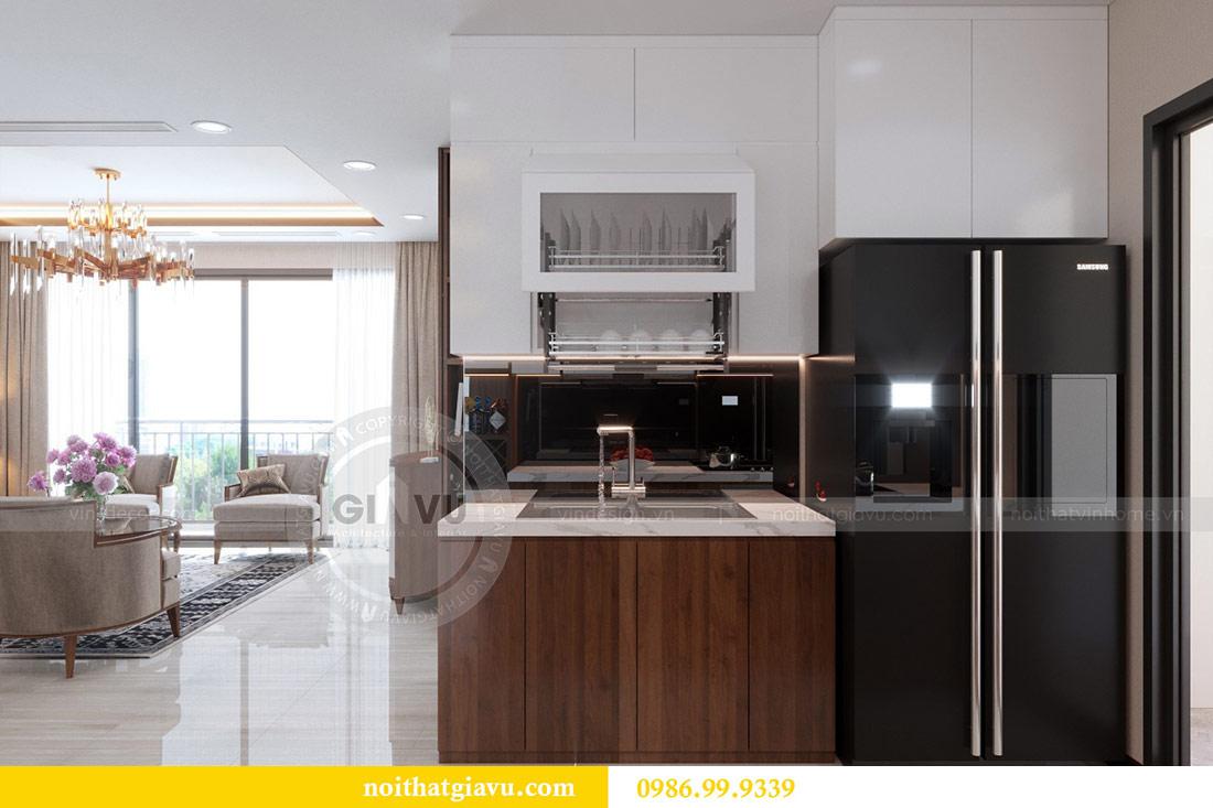 Thiết kế nội thất chung cư Dcapitale tòa C3 căn 10 - chị Hằng 6