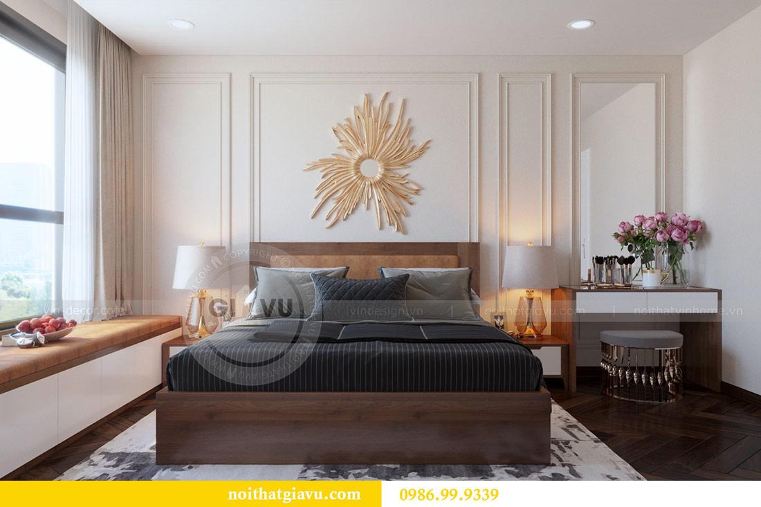 Thiết kế nội thất chung cư Dcapitale tòa C3 căn 10 - chị Hằng 7