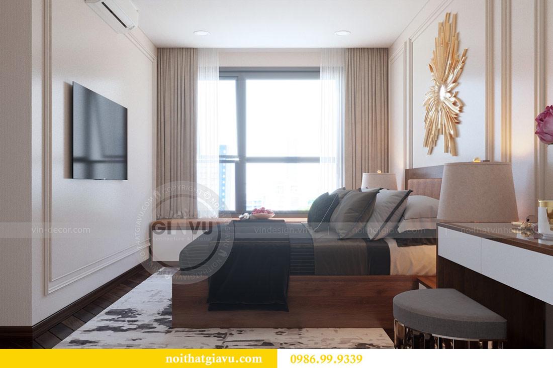 Thiết kế nội thất chung cư Dcapitale tòa C3 căn 10 - chị Hằng 8