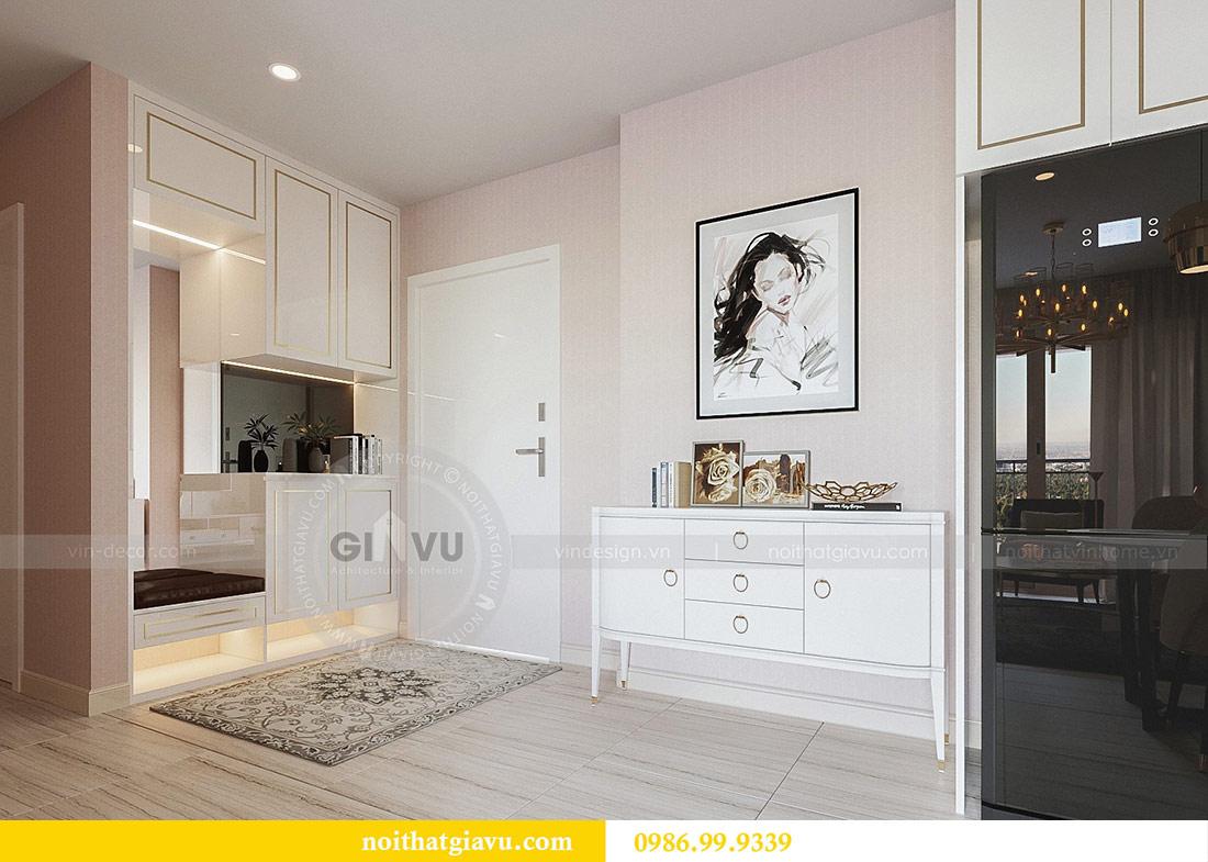 Thiết kế thi công nội thất Vinhomes Dcapitale tòa C3 căn 05 1