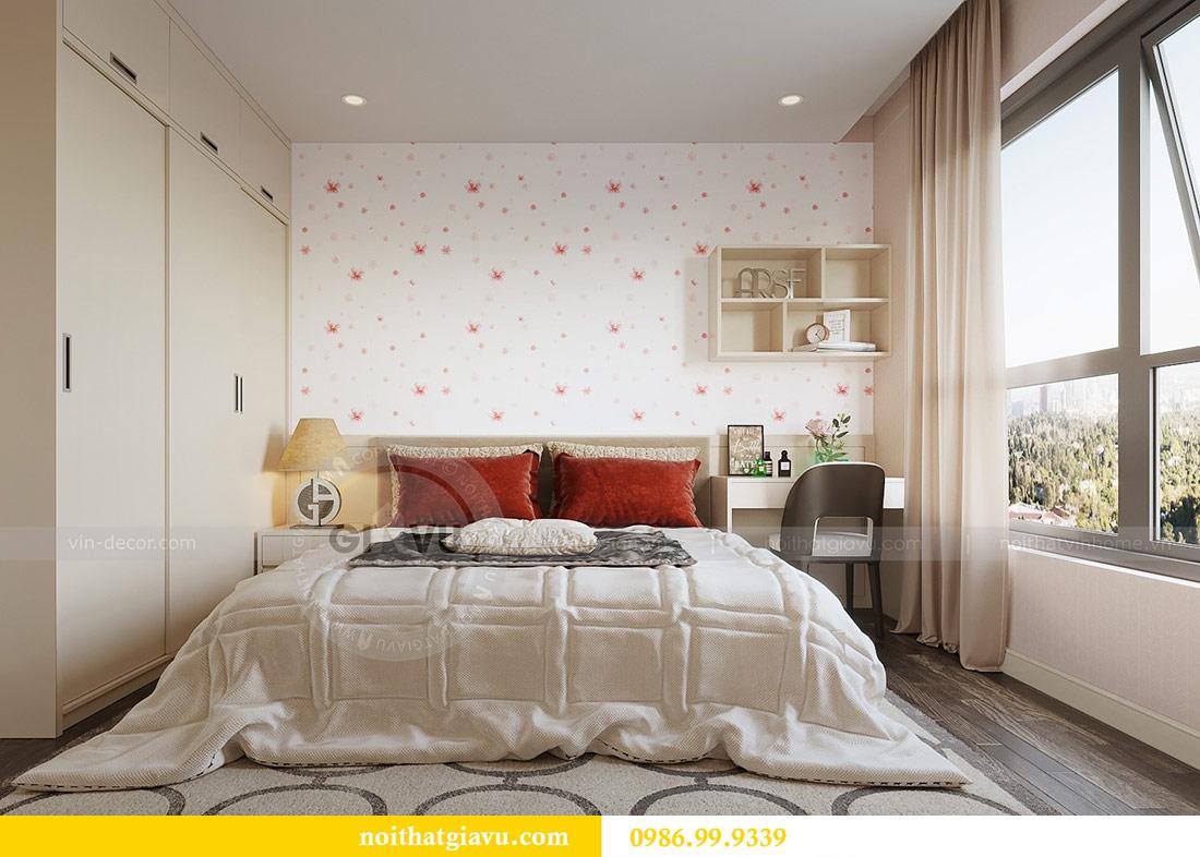 Thiết kế thi công nội thất Vinhomes Dcapitale tòa C3 căn 05 10