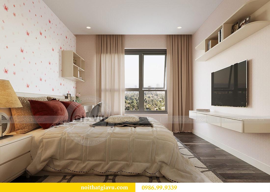 Thiết kế thi công nội thất Vinhomes Dcapitale tòa C3 căn 05 11