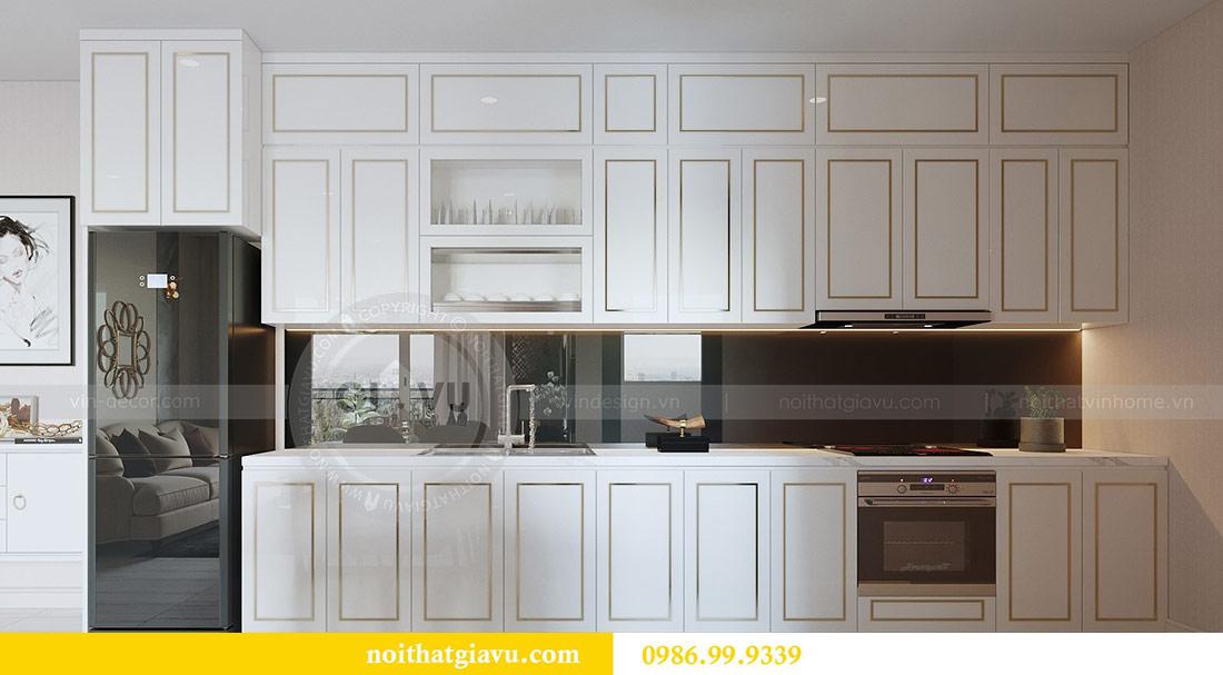 Thiết kế thi công nội thất Vinhomes Dcapitale tòa C3 căn 05 2