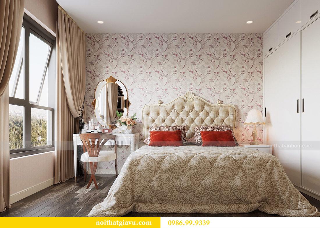 Thiết kế thi công nội thất Vinhomes Dcapitale tòa C3 căn 05 7