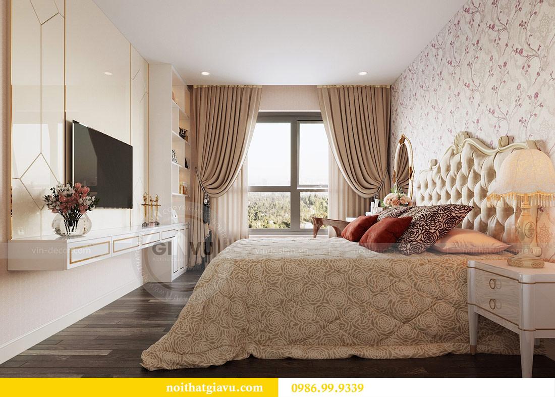 Thiết kế thi công nội thất Vinhomes Dcapitale tòa C3 căn 05 9
