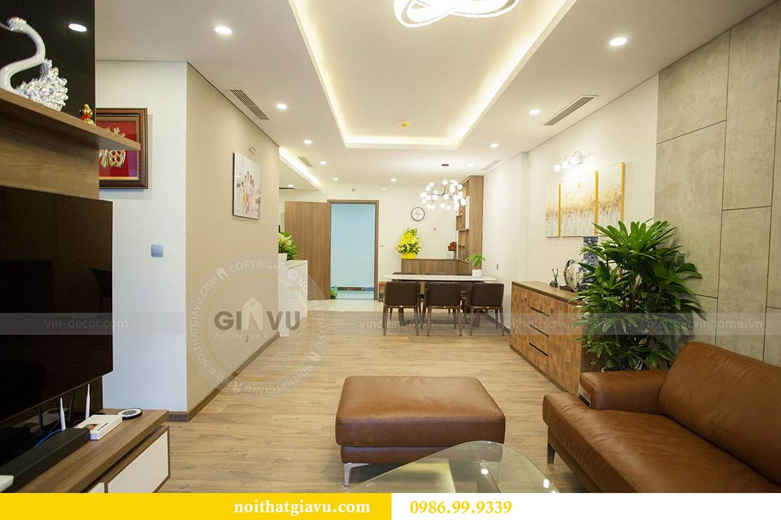 Thi công nội thất căn hộ 108m2 tại chung cư Ngoại Giao Đoàn - chị Hương 10