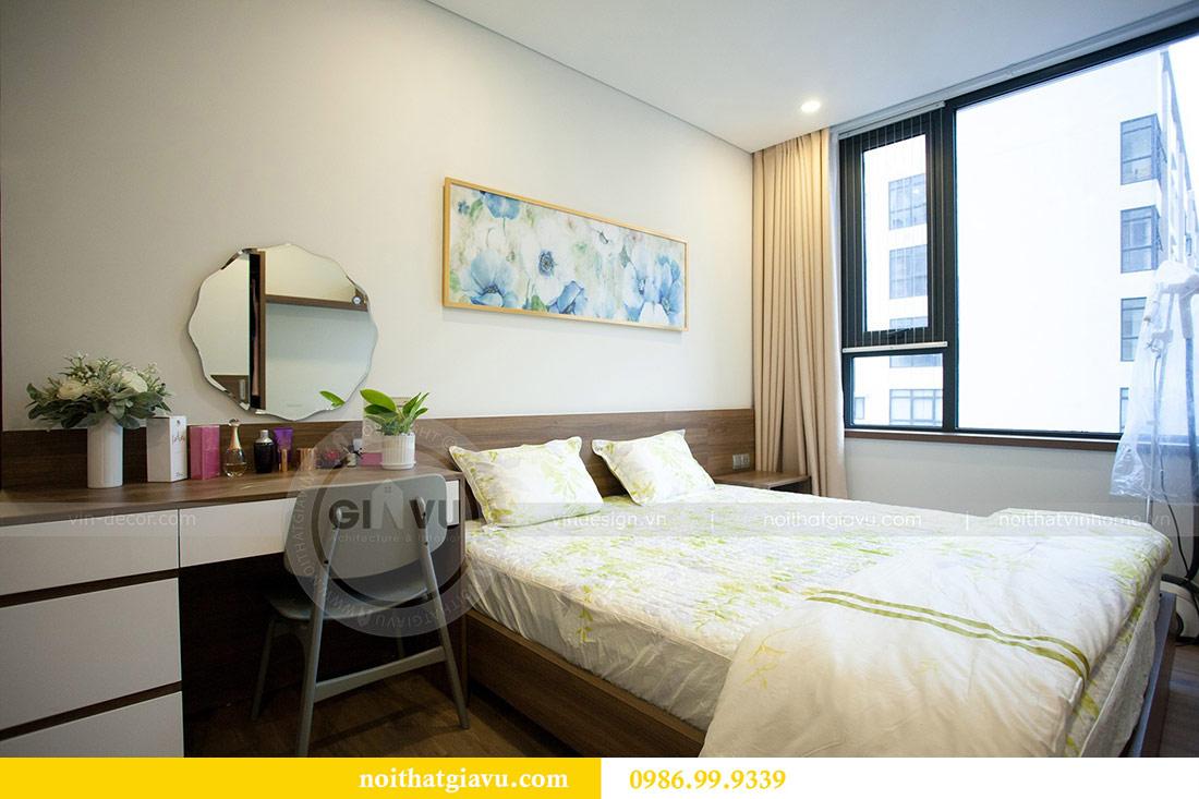 Thi công nội thất căn hộ 108m2 tại chung cư Ngoại Giao Đoàn - chị Hương 11