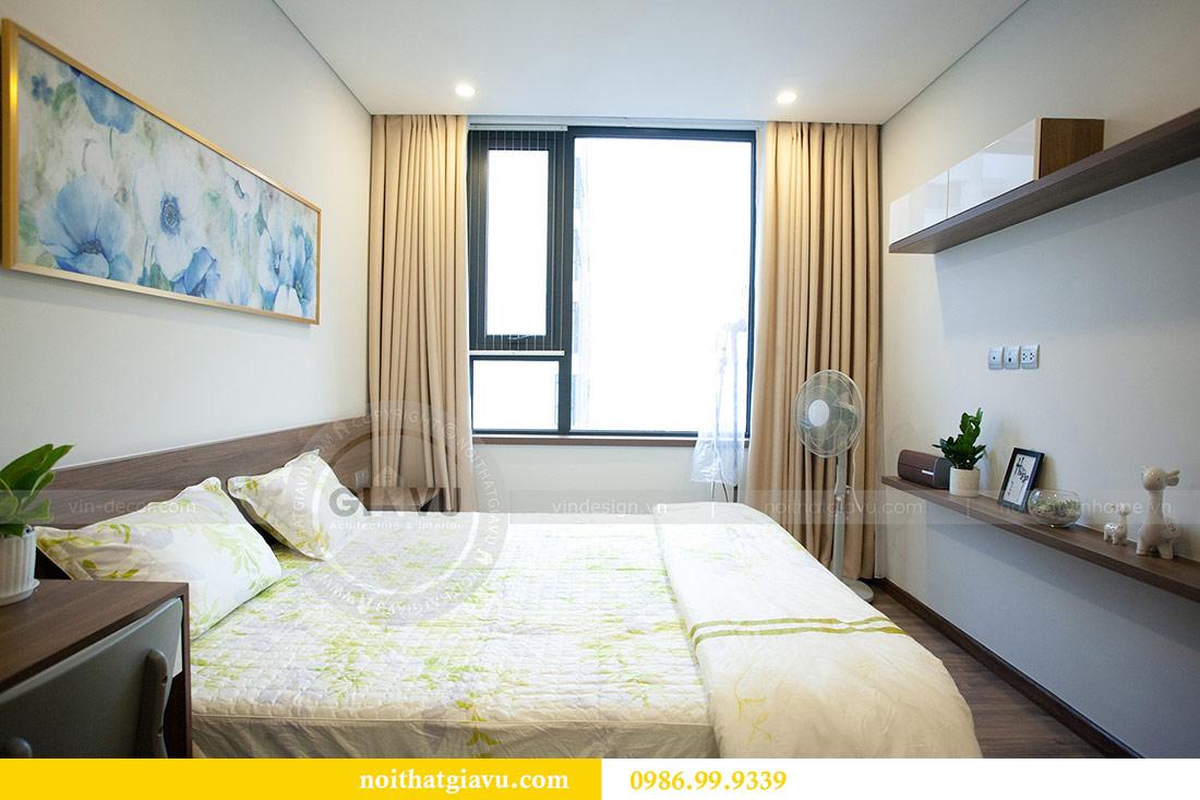 Thi công nội thất căn hộ 108m2 tại chung cư Ngoại Giao Đoàn - chị Hương 12