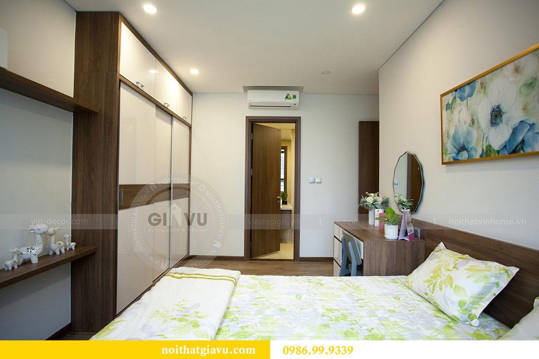 Thi công nội thất căn hộ 108m2 tại chung cư Ngoại Giao Đoàn - chị Hương 13