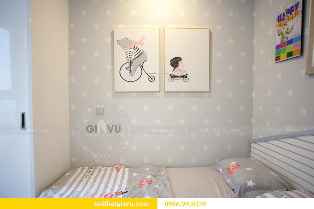 Thi công nội thất căn hộ 108m2 tại chung cư Ngoại Giao Đoàn - chị Hương 15
