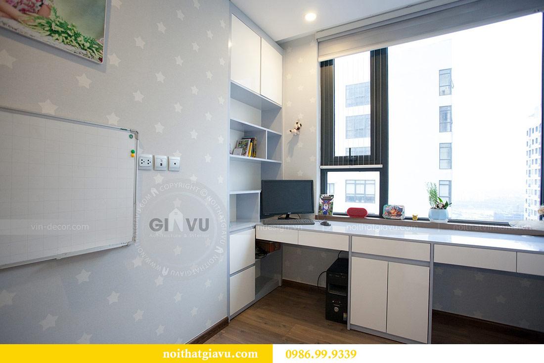Thi công nội thất căn hộ 108m2 tại chung cư Ngoại Giao Đoàn - chị Hương 16