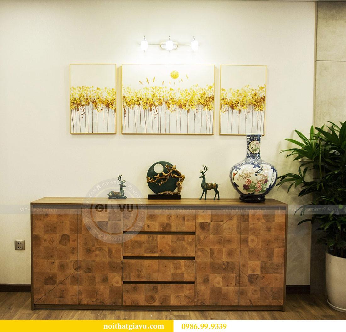 Thi công nội thất căn hộ 108m2 tại chung cư Ngoại Giao Đoàn - chị Hương 4