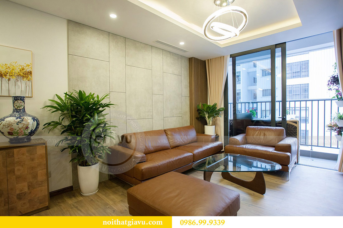 Thi công nội thất căn hộ 108m2 tại chung cư Ngoại Giao Đoàn - chị Hương 5