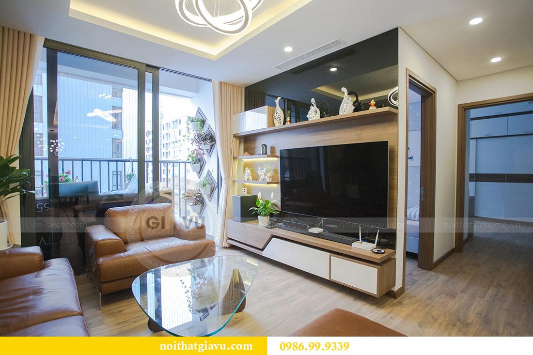Thi công nội thất căn hộ 108m2 tại chung cư Ngoại Giao Đoàn - chị Hương 6