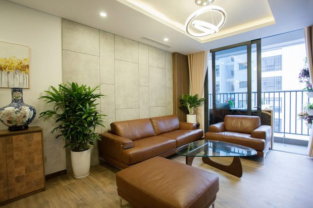 Thi công nội thất căn hộ 108m2 tại chung cư Ngoại Giao Đoàn – chị Hương