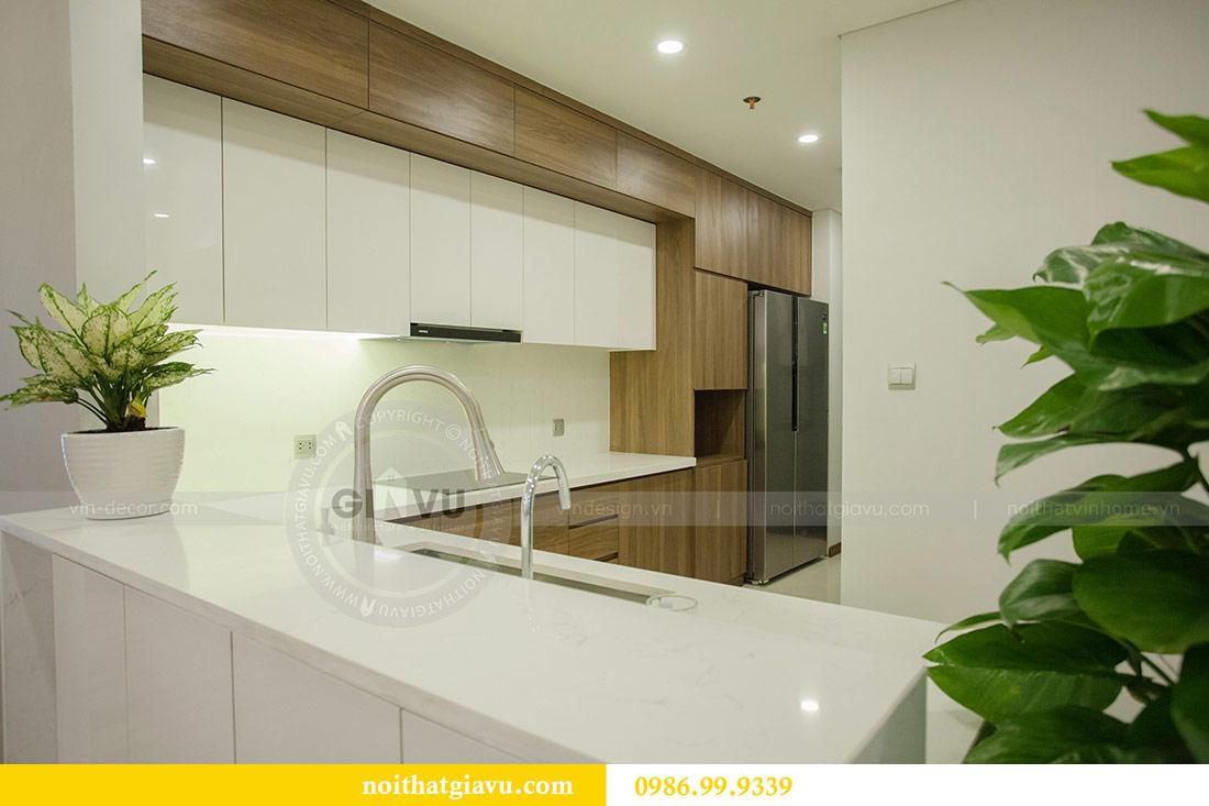 Thi công nội thất căn hộ 108m2 tại chung cư Ngoại Giao Đoàn - chị Hương 7