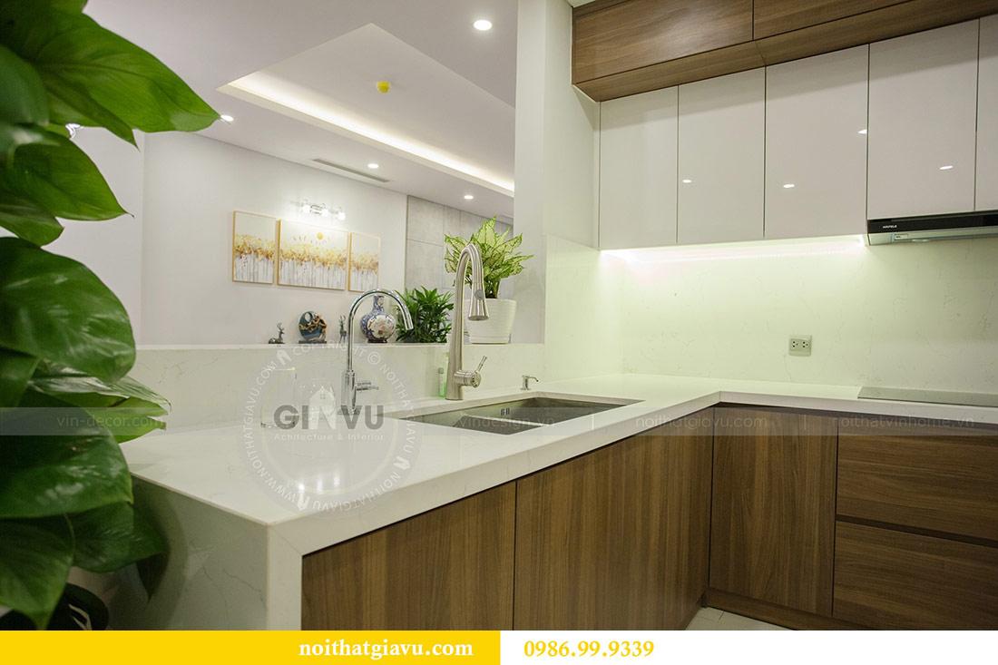 Thi công nội thất căn hộ 108m2 tại chung cư Ngoại Giao Đoàn - chị Hương 8