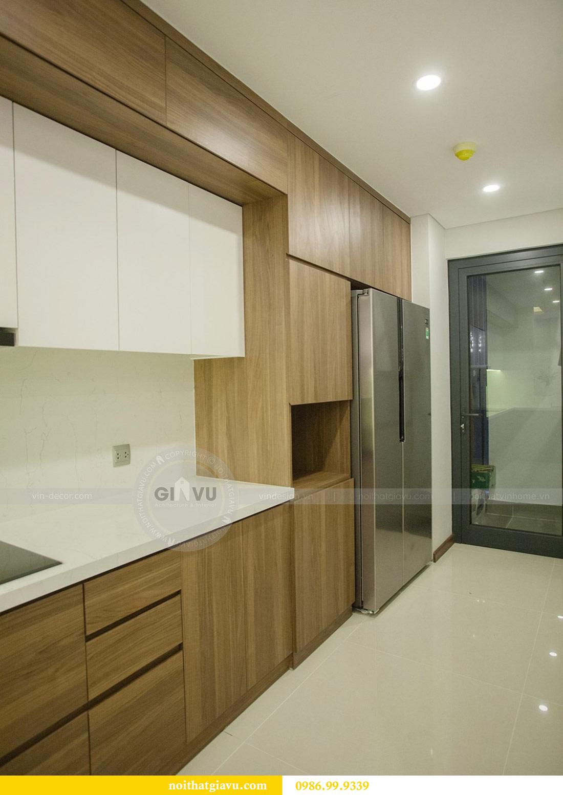 Thi công nội thất căn hộ 108m2 tại chung cư Ngoại Giao Đoàn - chị Hương 9