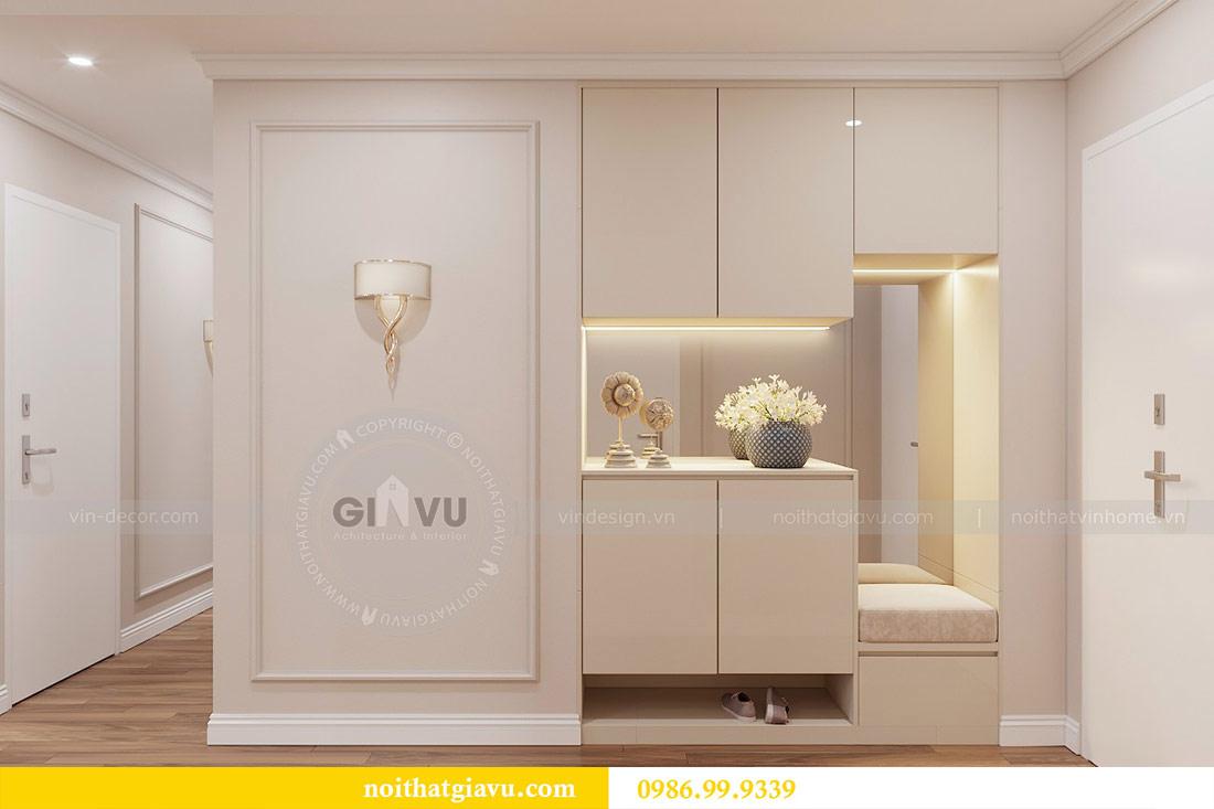 Thiết kế căn hộ cao cấp Metropolis phong cách tân cổ điển - chị Lan 1