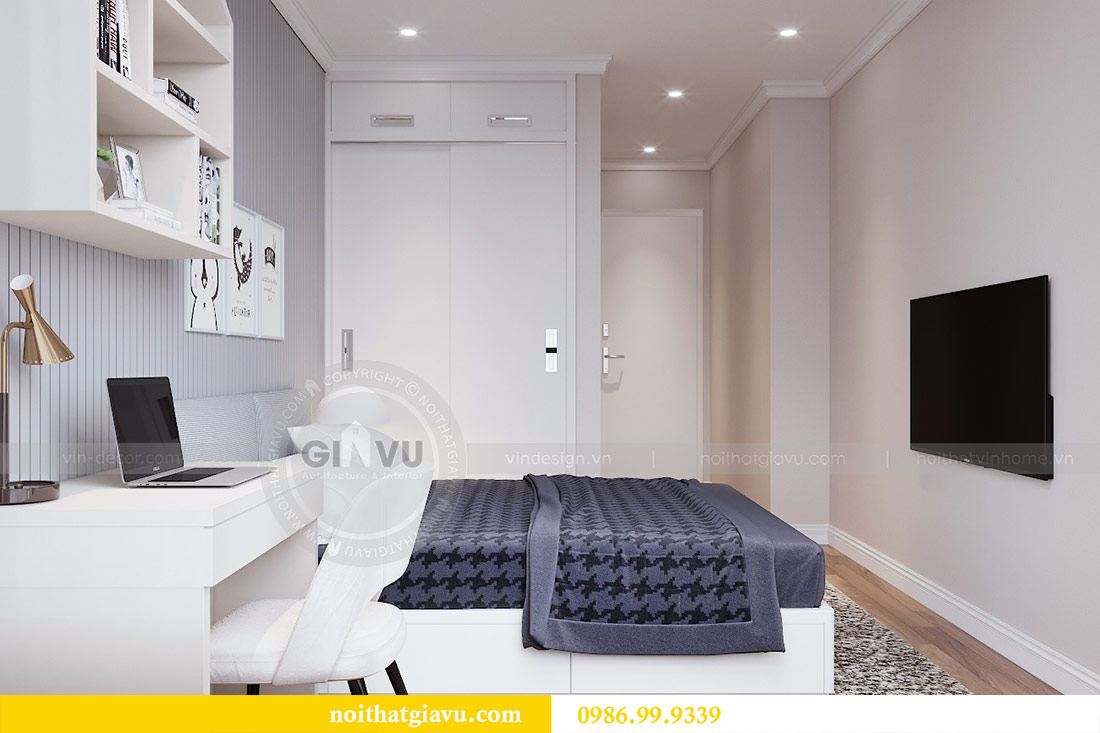 Thiết kế căn hộ cao cấp Metropolis phong cách tân cổ điển - chị Lan 10