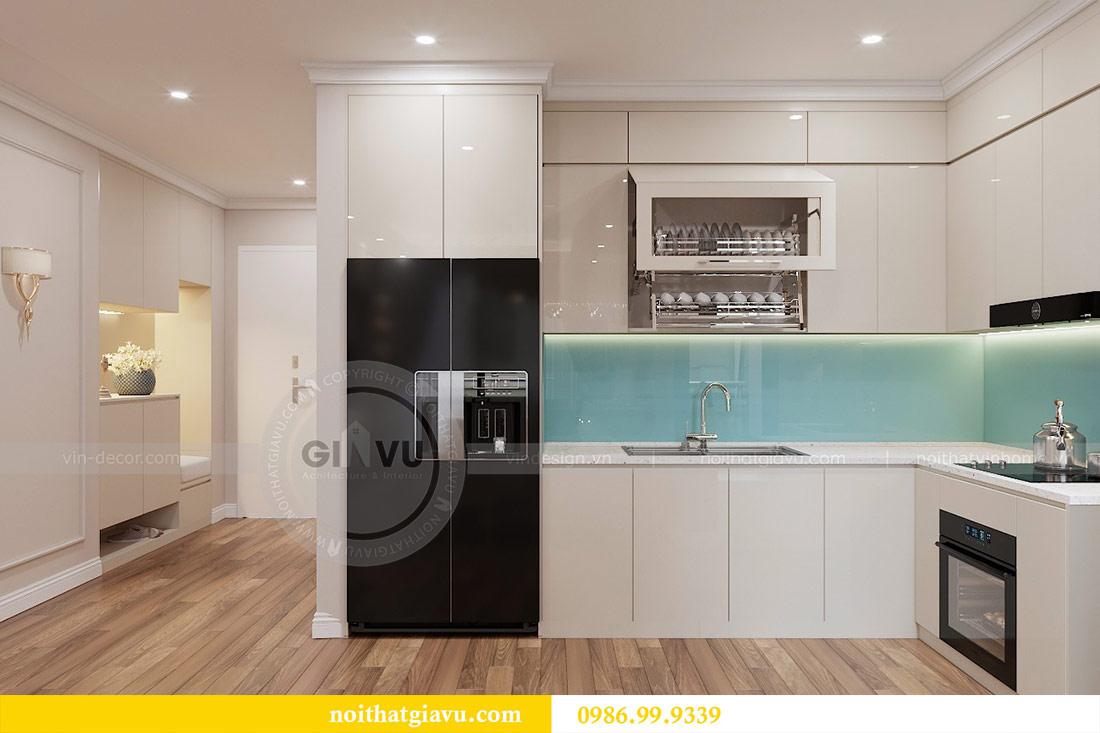 Thiết kế căn hộ cao cấp Metropolis phong cách tân cổ điển - chị Lan 2