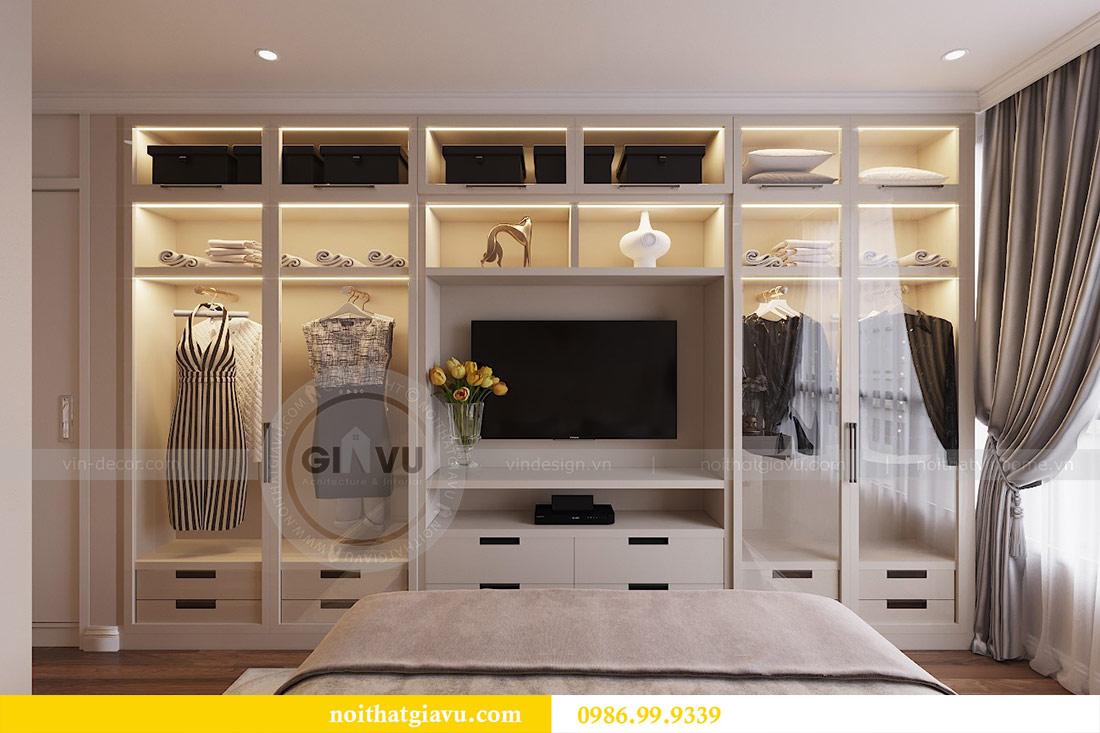 Thiết kế căn hộ cao cấp Metropolis phong cách tân cổ điển - chị Lan 7