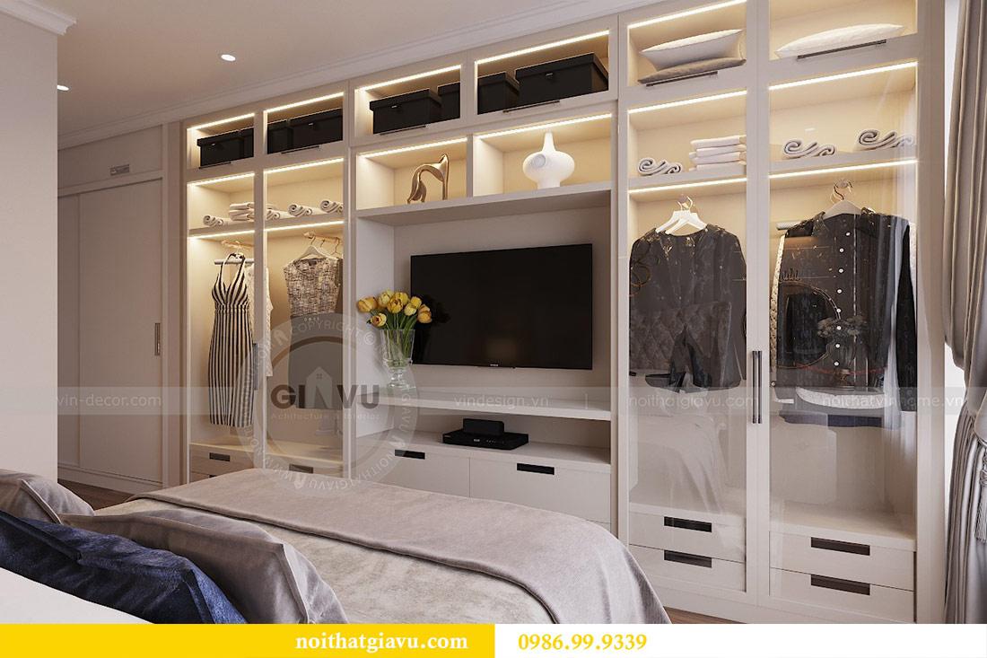 Thiết kế căn hộ cao cấp Metropolis phong cách tân cổ điển - chị Lan 8