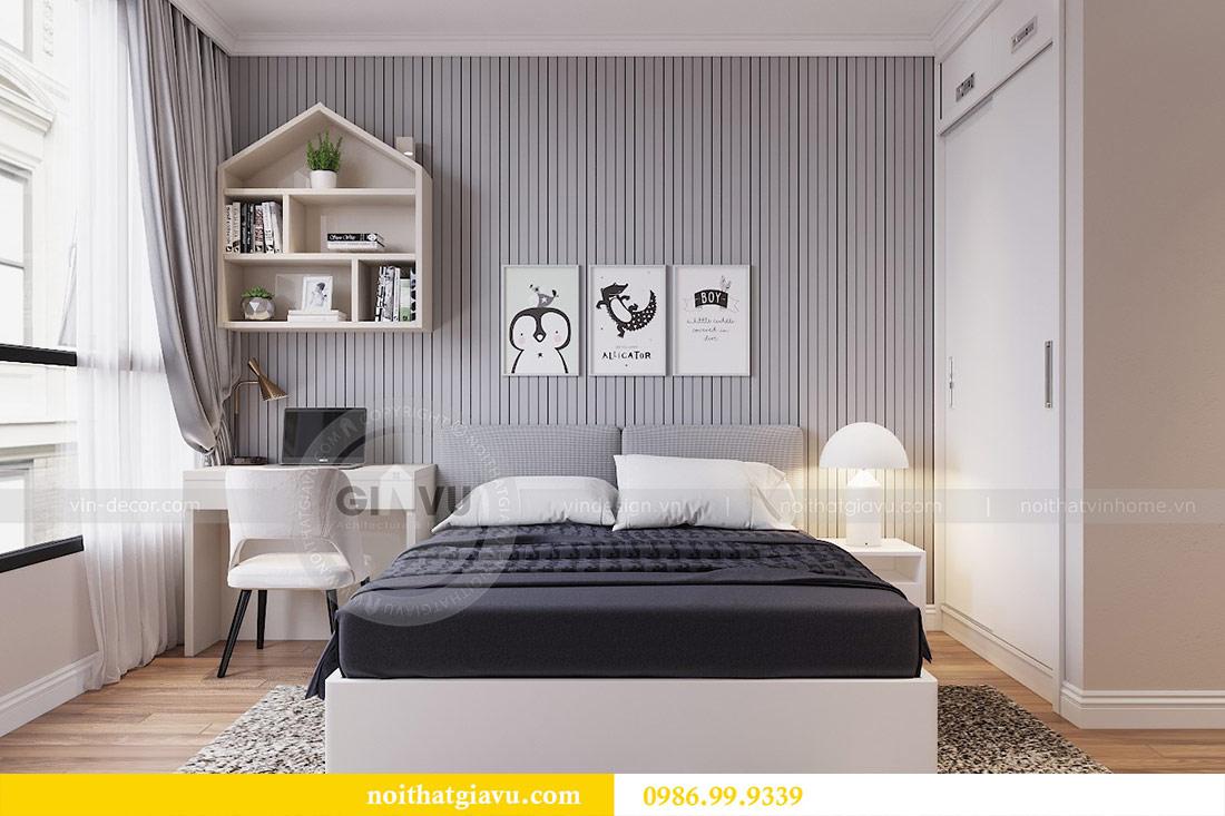 Thiết kế căn hộ cao cấp Metropolis phong cách tân cổ điển - chị Lan 9