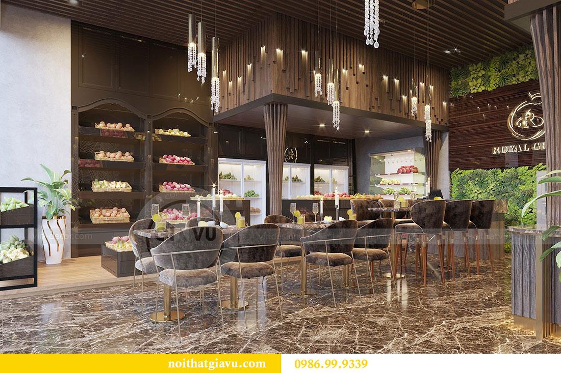 Thiết kế nội thất shophouse Vinhomes Green Bay - chị Yến 3