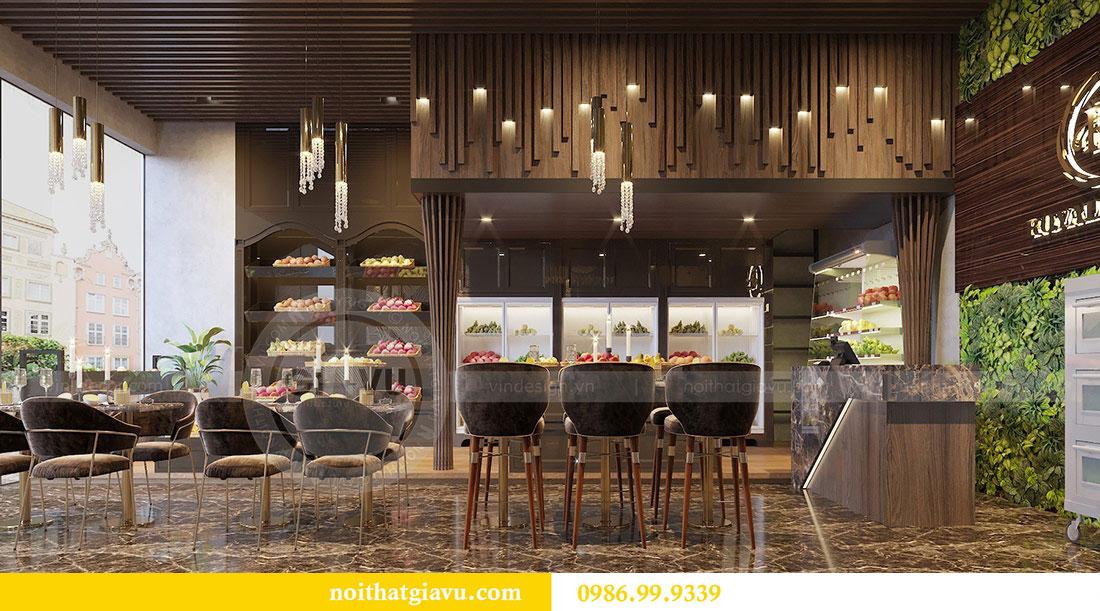 Thiết kế nội thất shophouse Vinhomes Green Bay - chị Yến 5