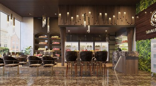 Thiết kế nội thất shophouse Vinhomes Green Bay – chị Yến