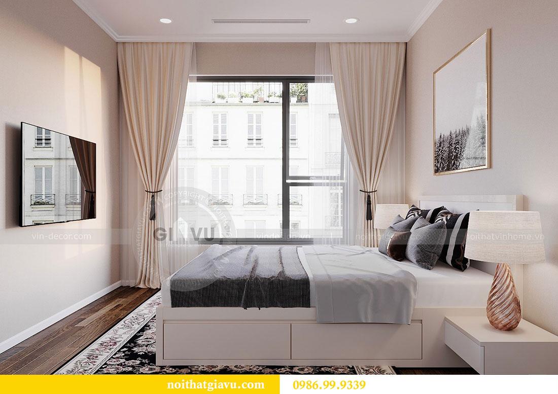 Thiết kế nội thất căn hộ chung cư Dcapitale tòa C3 căn 09 - anh Luân 10
