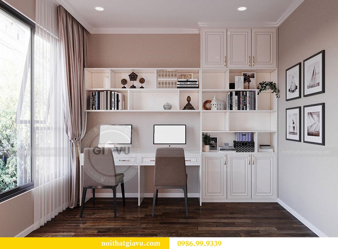 Thiết kế nội thất căn hộ chung cư Dcapitale tòa C3 căn 09 - anh Luân 11