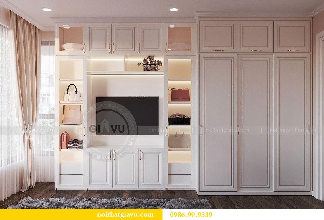 Thiết kế nội thất căn hộ chung cư Dcapitale tòa C3 căn 09 - anh Luân 7