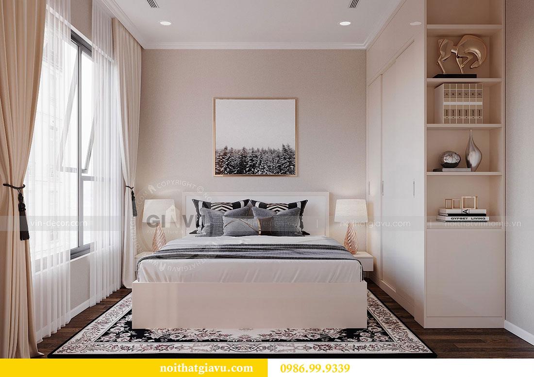 Thiết kế nội thất căn hộ chung cư Dcapitale tòa C3 căn 09 - anh Luân 9