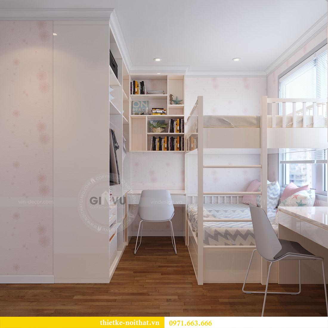 Thiết kế nội thất Dcapitale tòa C7 căn 05 phong cách hiện đại - chị Hà 10
