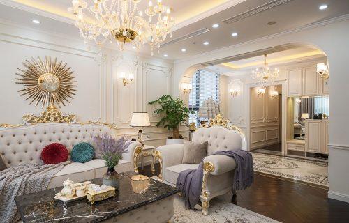 Thiết kế thi công hoàn thiện nội thất chung cư trọn gói tại Hà Nội