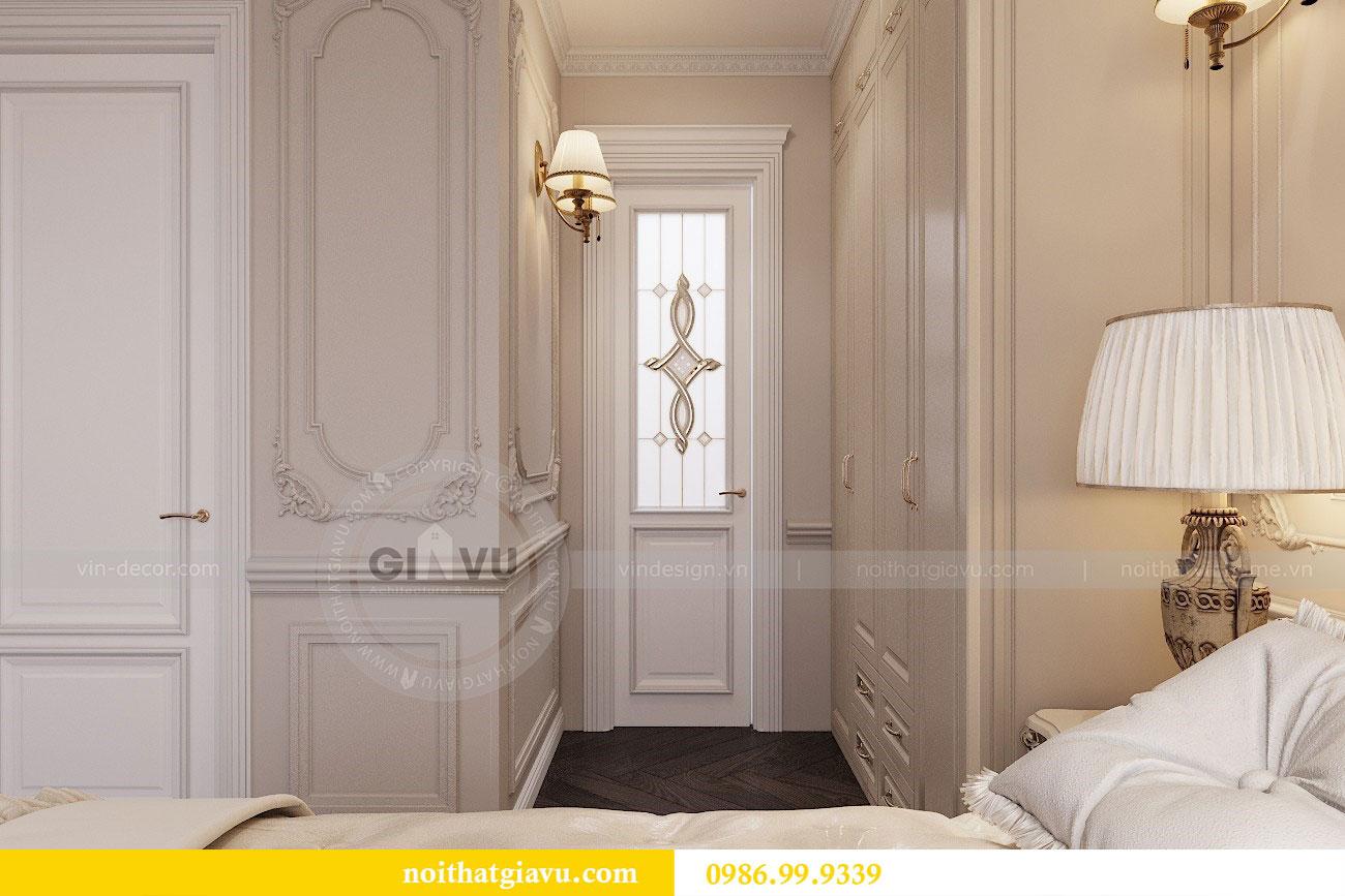 Thiết kế thi công nội thất chung cư 120m2 đẹp sang trọng - chị Hương 12.