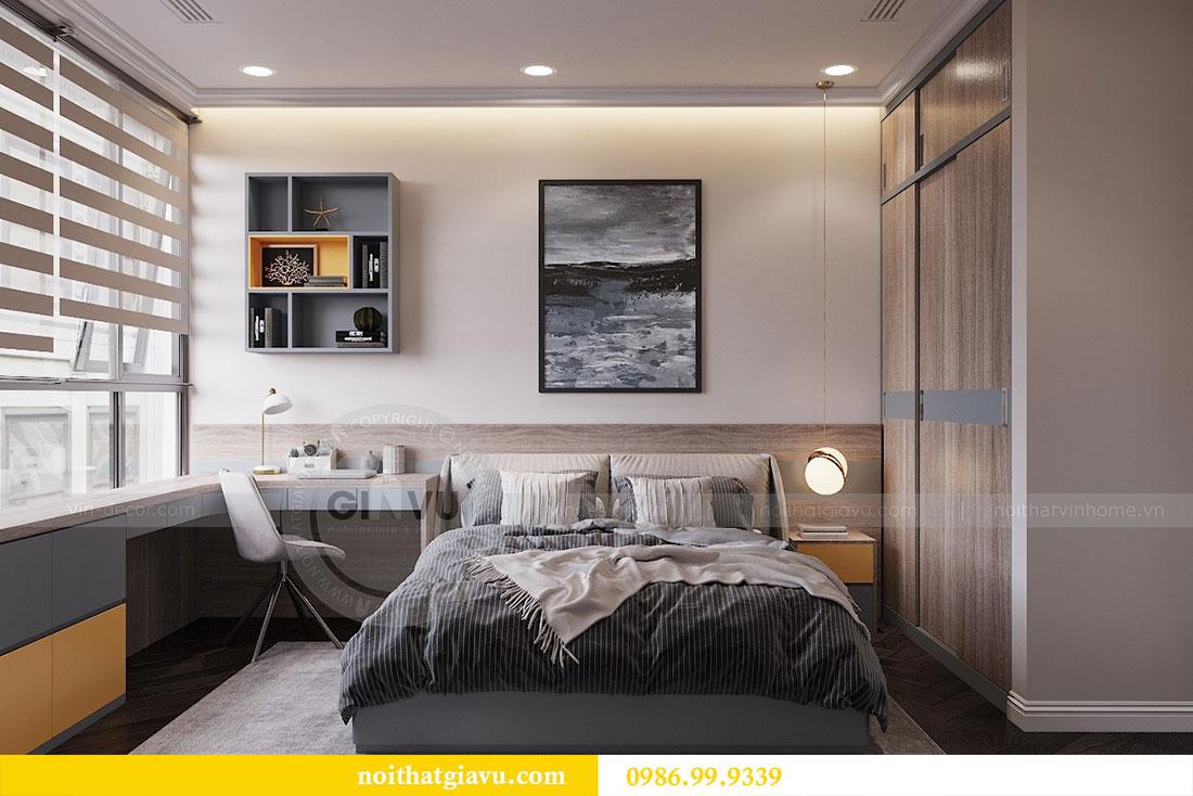 Thiết kế thi công nội thất chung cư 120m2 đẹp sang trọng - chị Hương 14