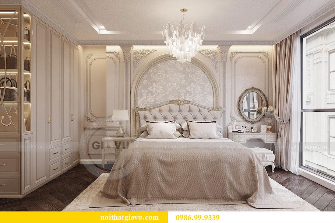 Thiết kế thi công nội thất chung cư 120m2 đẹp sang trọng - chị Hương 8