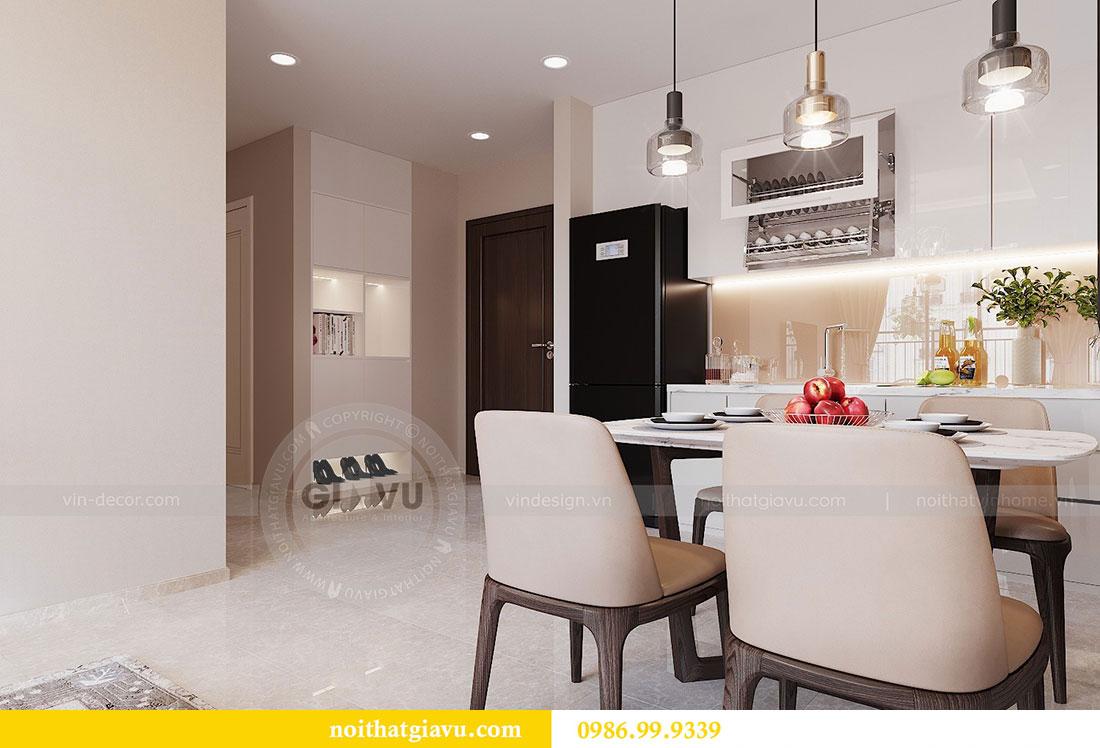 Chiêm ngưỡng mẫu thiết kế nội thất căn hộ 2 phòng ngủ đẹp hiện đại 1