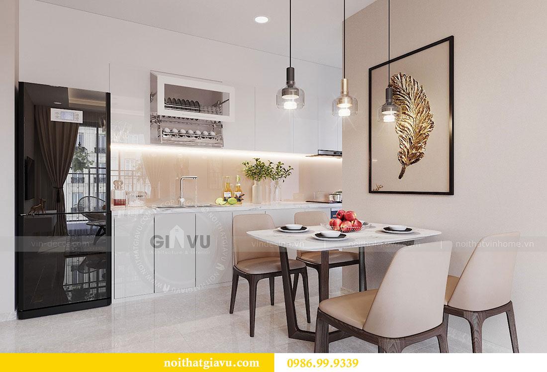 Chiêm ngưỡng mẫu thiết kế nội thất căn hộ 2 phòng ngủ đẹp hiện đại 3