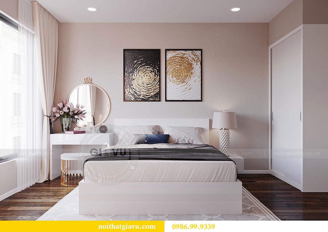 Chiêm ngưỡng mẫu thiết kế nội thất căn hộ 2 phòng ngủ đẹp hiện đại 6