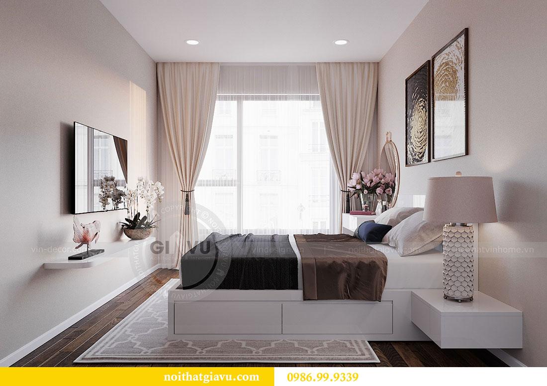 Chiêm ngưỡng mẫu thiết kế nội thất căn hộ 2 phòng ngủ đẹp hiện đại 7