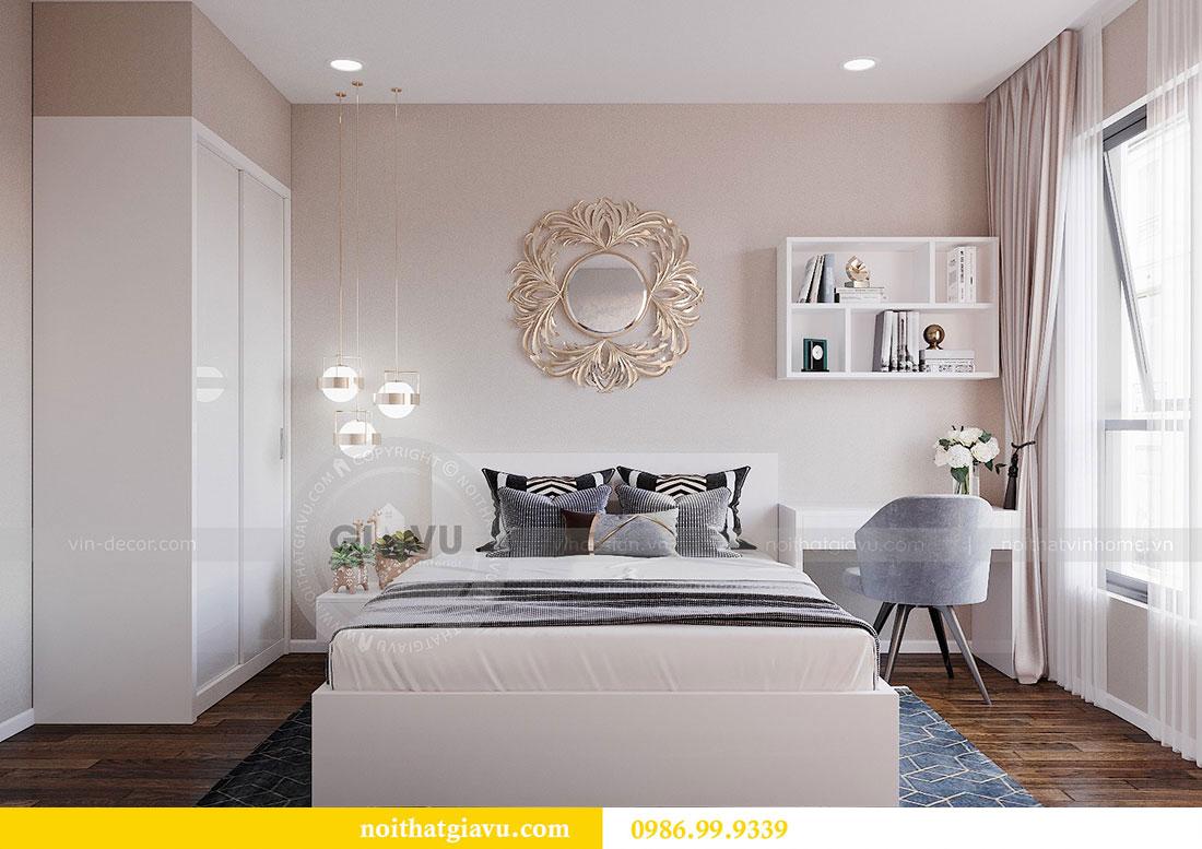 Chiêm ngưỡng mẫu thiết kế nội thất căn hộ 2 phòng ngủ đẹp hiện đại 8