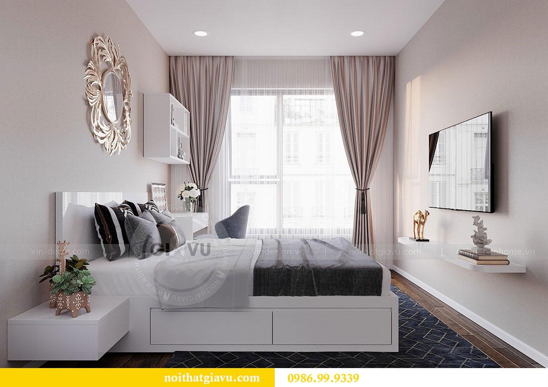 Chiêm ngưỡng mẫu thiết kế nội thất căn hộ 2 phòng ngủ đẹp hiện đại 9