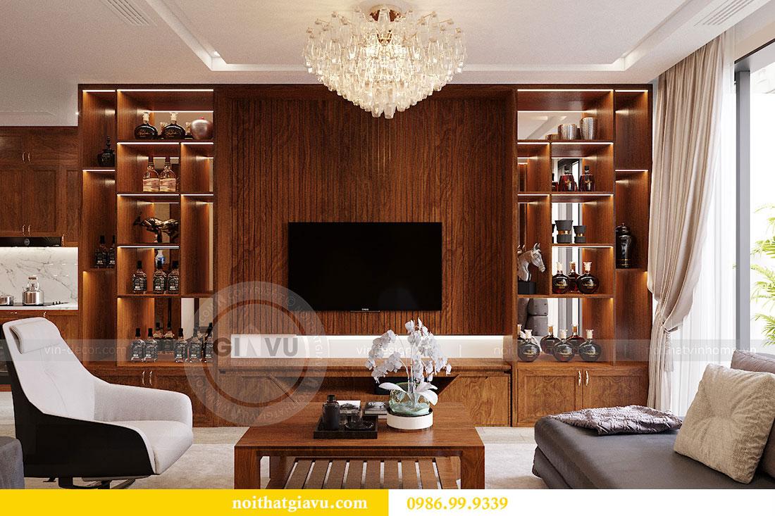 Chiêm ngưỡng nội thất căn hộ 110m2 tại dự án Vinhomes Metropolis 2