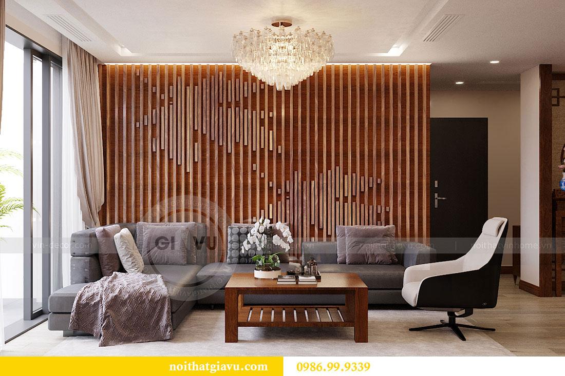 Chiêm ngưỡng nội thất căn hộ 110m2 tại dự án Vinhomes Metropolis 3